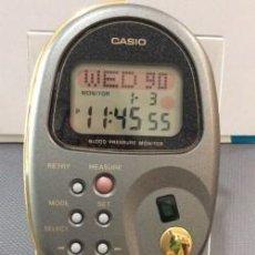 Relojes - Casio: RELOJ CASIO HBP 500 BLACK ¡¡TENSIOMETRO!! ¡¡ AÑO 90 !! VINTAGE !!!!! (VER FOTOS). Lote 187208922