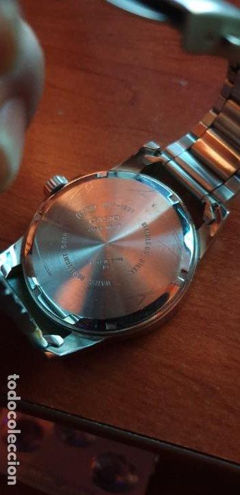 Relojes - Casio: RELOJ CASIO MTP-1291 ACERO para hombre SEMI NUEVO - Foto 4 - 198159805