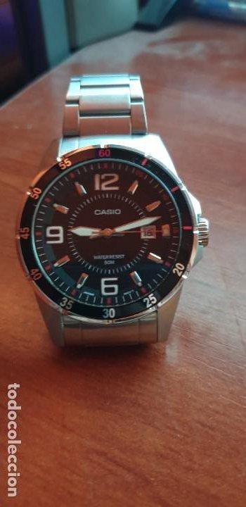 RELOJ CASIO MTP-1291 ACERO PARA HOMBRE SEMI NUEVO (Relojes - Relojes Actuales - Casio)