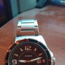 Relojes - Casio: RELOJ CASIO MTP-1291 ACERO PARA HOMBRE SEMI NUEVO. Lote 198159805