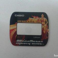 Relojes - Casio: CRISTAL CASIO ORIGINAL MEGA FORCE NUEVO. Lote 198926592