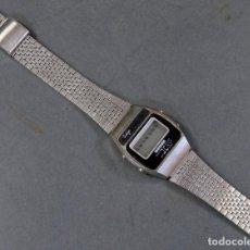 Relojes - Casio: RELOJ PULSERA DIGITAL SANYO CABALLERO METAL VINTAGE JAPAN AÑOS 80 FUNCIONA. Lote 198998865