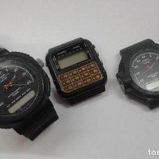 Relojes - Casio: LOTE RELOJES CASIO PARA REPUESTO. Lote 199062823