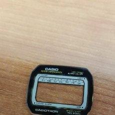 Relojes - Casio: CRISTAL (VINTAGE) CASIO, ALARMA,CRONÓGRAFO, SIN JUNTA NUEVO SIN USO, CRISTAL ORIGINALES 100% CASIO. . Lote 199511667
