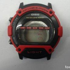 Relojes - Casio: CAJA CON TAPADERA CASIO W-92H NUEVA. Lote 199781396