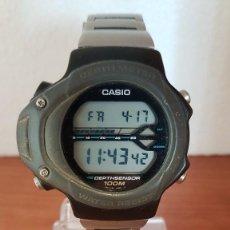 Relojes - Casio: RELOJ CABALLERO (VINTAGE) CASIO 994 - SNK - 100, CRISTAL SIN RAYAS, SENSOR, CORREA GOMA NO ORIGINAL . Lote 200808926