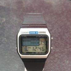Relojes - Casio: JOYERIA DEL MERCADO CASIO GAME-10. Lote 206221525