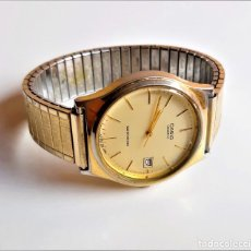 Relojes - Casio: CASIO RELOJ QUARTZ CALENDARIO FUNCIONANDO - BANDA METAL EXTENSIBLE - CAJA 34.MM DIAMETRO. Lote 207134812
