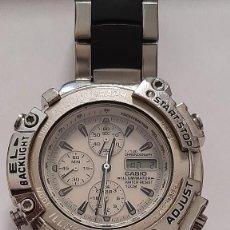 Relojes - Casio: RELOJ DE PULSERA CABALLERO CASIO CHRONOGRAPH ILLUMINATORIO 100 M MADE IN JAPAN. Lote 208669540