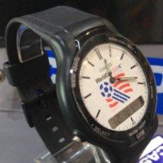 Relojes - Casio: RELOJ CASIO SVC 03 ¡¡ WORLD CUP USA 94 !! VINTAGE ¡¡NUEVO!! (VER FOTOS). Lote 209619440