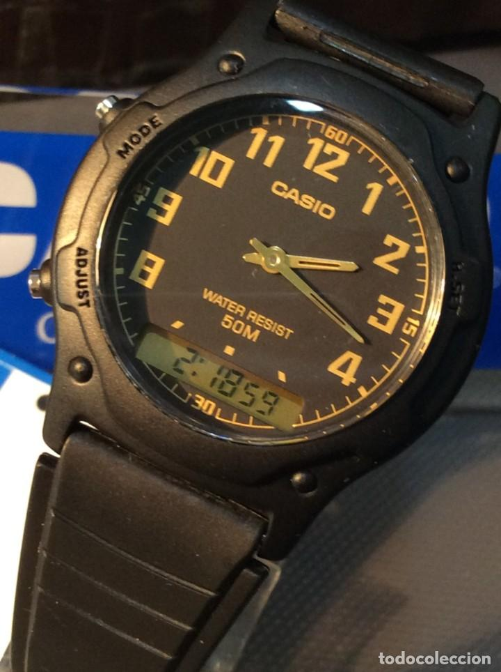 RELOJ CASIO AW 49 BLACK !! CLASICO VINTAGE !! (VER FOTOS) (Relojes - Relojes Actuales - Casio)