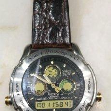 Relojes - Casio: CASIO SPEED MEMORY 100 OCEANUS. VINTAGE AÑOS 80. Lote 210824366