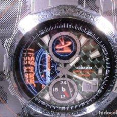 Relojes - Casio: MAQUETA CASIO WAVE CEPTOR PARA PUBLICIDAD APROX. CM 40 X 37,5 CMS. Lote 211653663