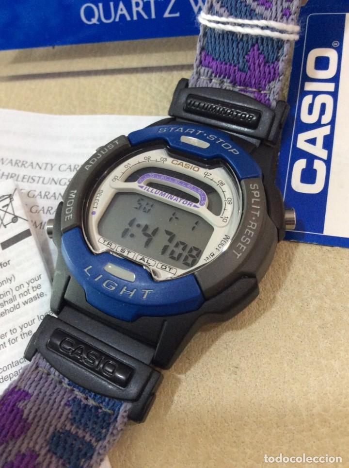 RELOJ CASIO W 729 AZUL - CORREA MULTICOLOR - ¡¡NUEVO!! (VER FOTOS) (Relojes - Relojes Actuales - Casio)