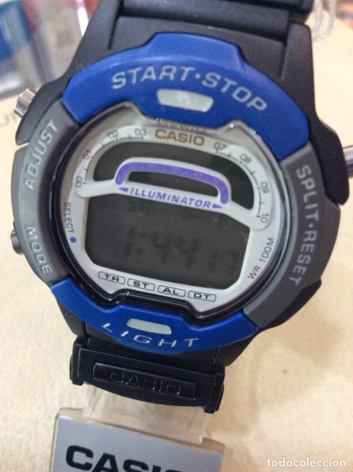 Relojes - Casio: RELOJ CASIO W 729 AZUL - CORREA MULTICOLOR - ¡¡NUEVO!! (VER FOTOS) - Foto 2 - 212028406