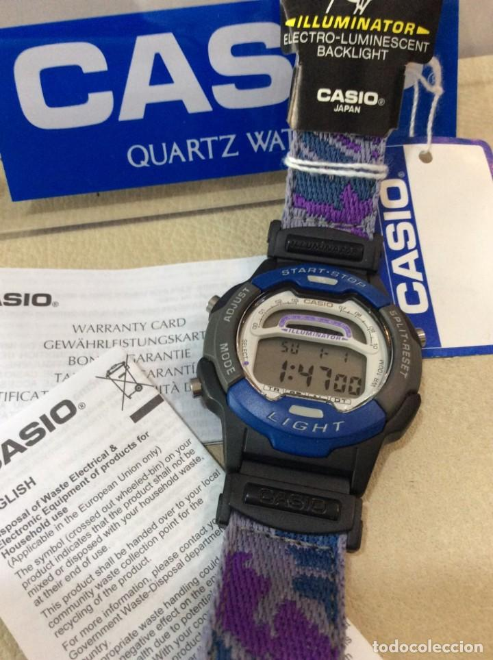 Relojes - Casio: RELOJ CASIO W 729 AZUL - CORREA MULTICOLOR - ¡¡NUEVO!! (VER FOTOS) - Foto 5 - 212028406