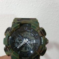 Relojes - Casio: RELOJ CAMUFLAJE TIPO CASIO GSHOCK. Lote 212602441