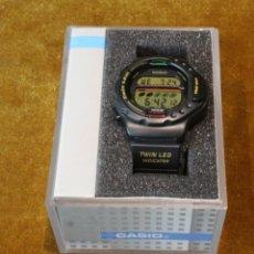Relojes - Casio: RELOJ CASIO DIGITAL,MODELO LED 30,MODULO 1176,ENSAMBLADO EN COREA,CORREA DE PLASTICO. ESTRENAR.. Lote 212638393