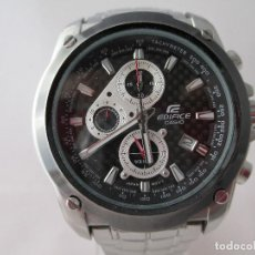 Relojes - Casio: MACIZO CRONOGRAFO CASIO EDIFICE CABALLERO. Lote 212917718