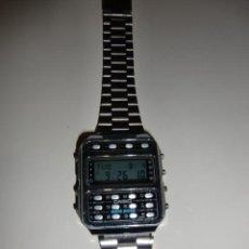 Relojes - Casio: RELOJ CALCULADORA CASIO DATA BANK MOD. CD-401 MODULO 246 MADE IN JAPAN. Lote 213662347