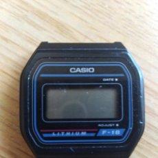 Relojes - Casio: RELOJ CASIO QUARTZ -F-18. (805). Lote 213860033