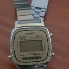 Relojes - Casio: RELOJ VINTAGE DE MUJER, MARCA CASIO, CORREA ORIGINAL. MODELO 3191. Lote 215143037