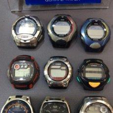 Relojes - Casio: ¡¡¡ 9 RELOJES CASIO VINTAGE !!! LOTE C ¡¡ DEFECTUOSOS !! (VER FOTOS). Lote 215473485