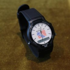 Relojes - Casio: RELOJ CASIO DIGITAL,MODELO SWC 03,MODULO 306 ENSAMBLADO EN COREA. WORLD CUP USA 94. Lote 215557892