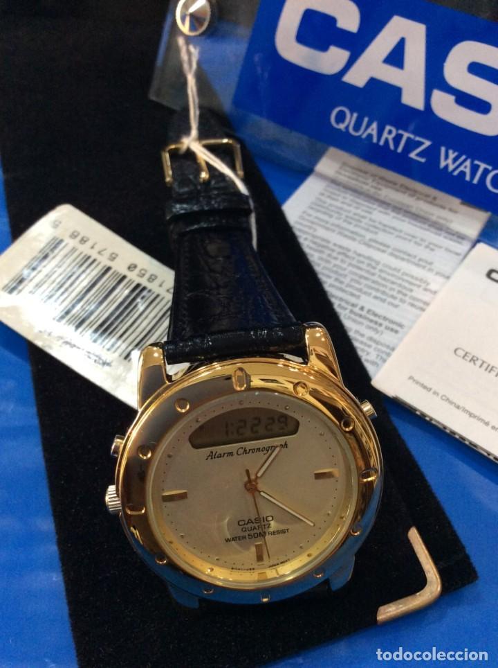 Relojes - Casio: RELOJ CASIO AQ 311 ¡¡ UNA JOYA DEL AÑO 92 !! VINTAGE (VER FOTOS) - Foto 2 - 260265225