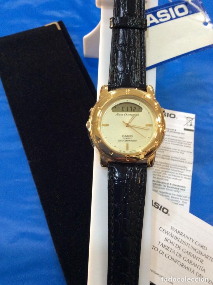 Relojes - Casio: RELOJ CASIO AQ 311 ¡¡ UNA JOYA DEL AÑO 92 !! VINTAGE (VER FOTOS) - Foto 3 - 260265225