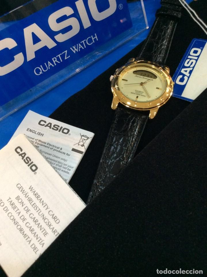 Relojes - Casio: RELOJ CASIO AQ 311 ¡¡ UNA JOYA DEL AÑO 92 !! VINTAGE (VER FOTOS) - Foto 4 - 260265225