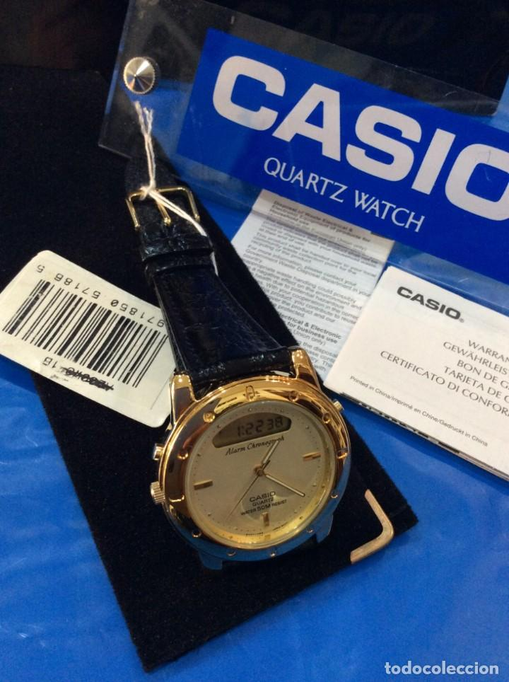 Relojes - Casio: RELOJ CASIO AQ 311 ¡¡ UNA JOYA DEL AÑO 92 !! VINTAGE (VER FOTOS) - Foto 5 - 260265225