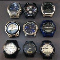 Relojes - Casio: ¡¡ 12 RELOJES CASIO VINTAGE !! LOTE P ¡¡DEFECTUOSOS!! ¡¡ (VER FOTOS). Lote 218841977