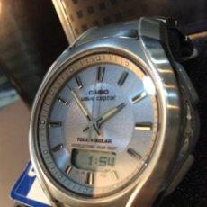 Relojes - Casio: RELOJ CASIO WVA 420 ¡¡ WAVE CEPTOR & SOLAR !! - VINTAGE - (VER FOTOS). Lote 219442876