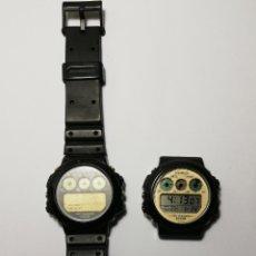 Relojes - Casio: LOTE 2 RELOJES CASIO TRI GRAPH TGW-10 JAPAN. Lote 220118316