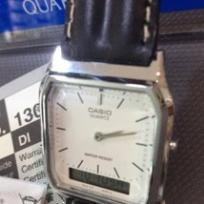 Relojes - Casio: RELOJ CASIO AQ 230 B PIEL ¡¡ANA DIGI!! VINTAGE¡¡NUEVO!! (VER FOTOS). Lote 220656606