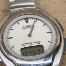 Relojes - Casio: RELOJ CASIO AW E10 ILUMINATOR. Lote 221136497