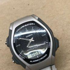 Relojes - Casio: RELOJ CASIO AQ140V DUAL TIME. Lote 221140482