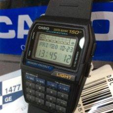 Relojes - Casio: RELOJ CASIO DBC 150 ¡¡ CALCULADORA !! VINTAGE ¡¡NUEVO!! (VER FOTOS). Lote 222276533