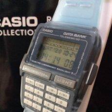 Relojes - Casio: RELOJ CASIO DBC 63 AZUL ¡¡CALCULADORA!! VINTAGE1994 ¡¡NUEVO!! (VER FOTOS). Lote 222277556