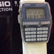 Relojes - Casio: RELOJ CASIO DBC 63 BLANCO ¡¡CALCULADORA!! VINTAGE1994 ¡¡NUEVO!! (VER FOTOS). Lote 222278005