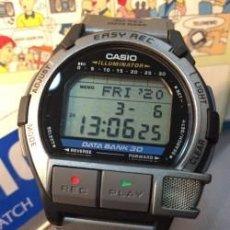 Relojes - Casio: RELOJ CASIO DB V30 ¡¡GRABADOR DE VOZ 30 SEG.!! VINTAGE ¡¡NUEVO!! (VER FOTOS). Lote 222280877
