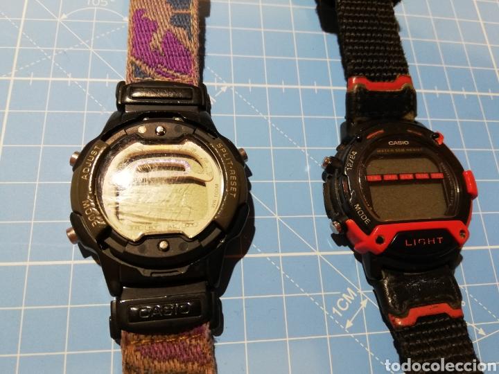 Relojes - Casio: Lote de 2 relojes Casio W-729H y W92H - Foto 3 - 224771412