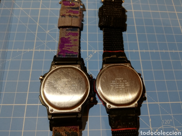 Relojes - Casio: Lote de 2 relojes Casio W-729H y W92H - Foto 4 - 224771412