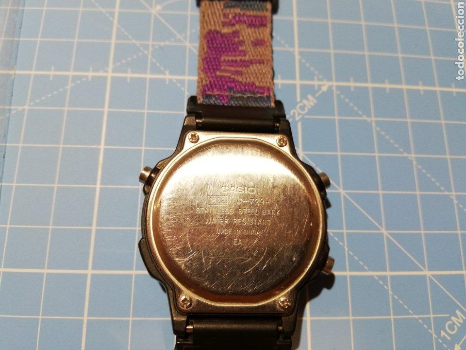 Relojes - Casio: Lote de 2 relojes Casio W-729H y W92H - Foto 5 - 224771412