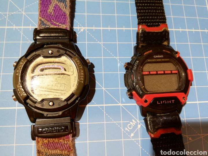 Relojes - Casio: Lote de 2 relojes Casio W-729H y W92H - Foto 2 - 224771412