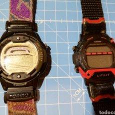 Relojes - Casio: LOTE DE 2 RELOJES CASIO W-729H Y W92H. Lote 224771412