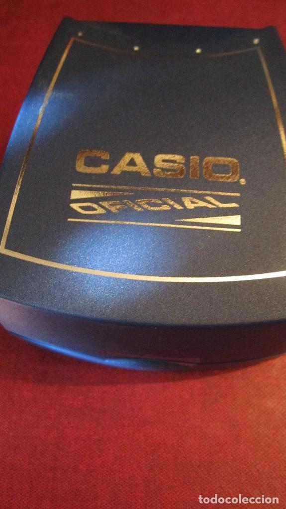 Relojes - Casio: GRAN RELOJ CASIO ANALOGICO, ACERO, CALENDARIO,FUNCIONANDO QUARTZ.DIAMETRO 40 MM.EN ESTUCHE CASIO - Foto 9 - 218473721