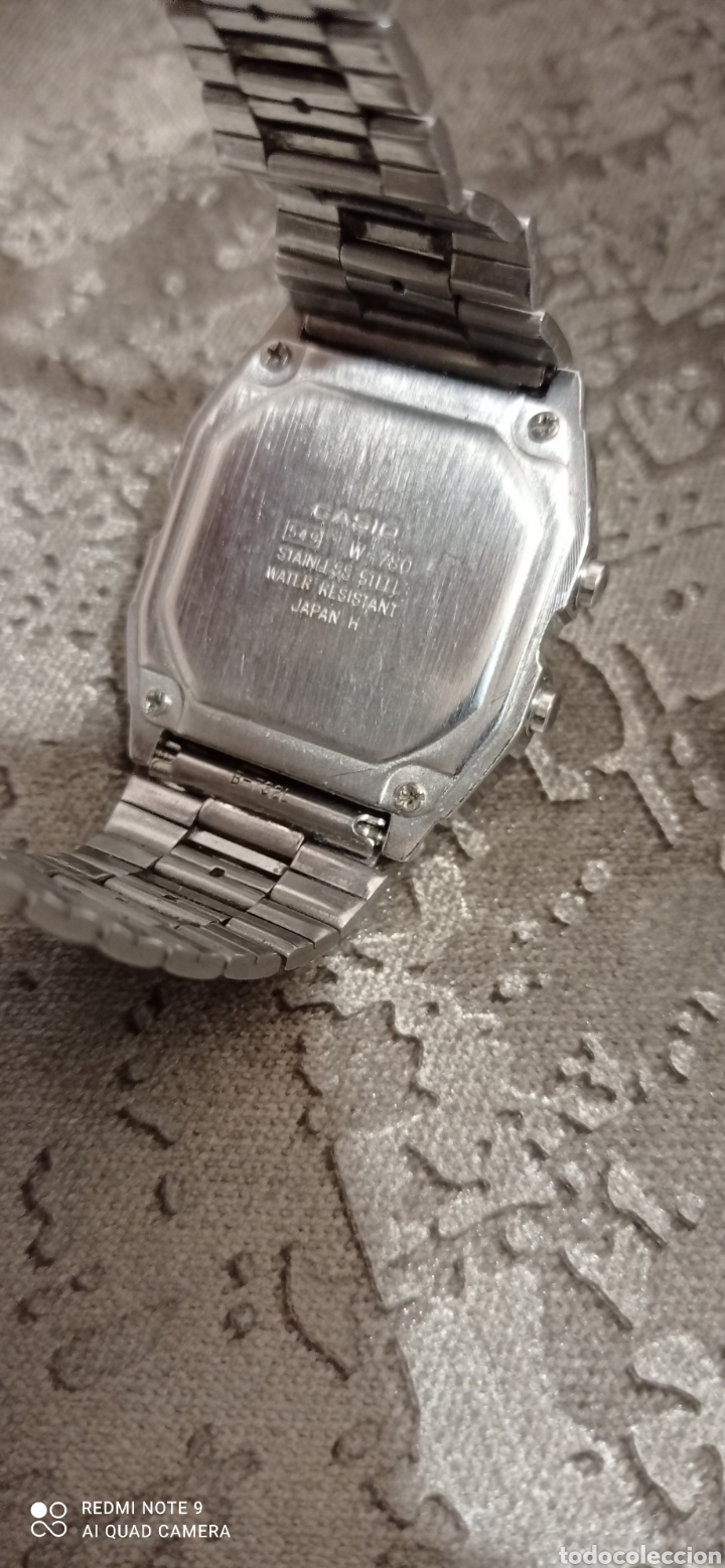 Relojes - Casio: RELOJ CASIO ALARMA CHRONO WATER RESIST 100M 549-W780 - Foto 9 - 226139420
