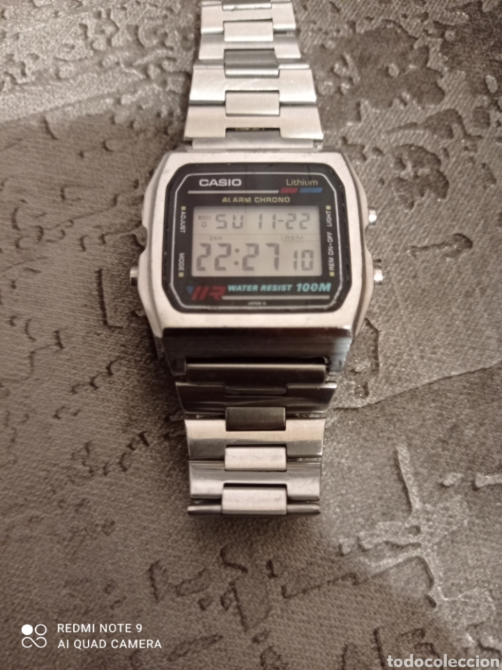 Relojes - Casio: RELOJ CASIO ALARMA CHRONO WATER RESIST 100M 549-W780 - Foto 2 - 226139420